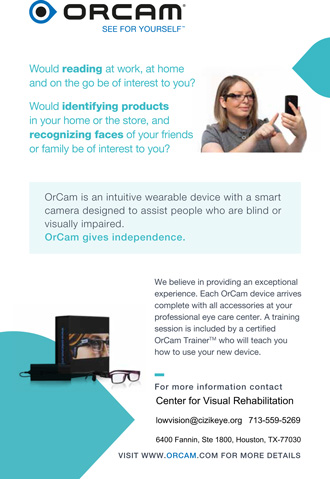 What is the OrCam?
