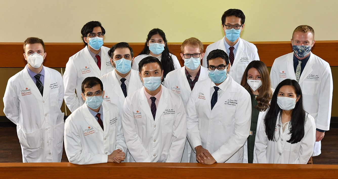 Ophthalmology residents photo